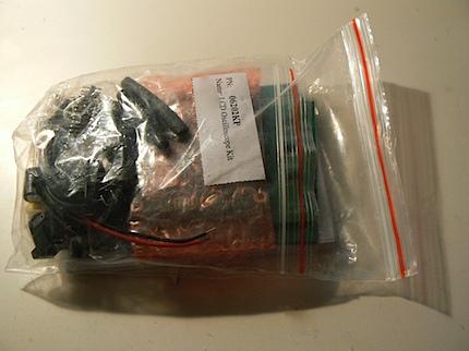 LCD Oscilloscope kit package